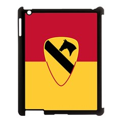 Flag Of United States Army 1st Cavalry Division Apple Ipad 3/4 Case (black) by abbeyz71