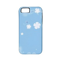 Blue Garden Apple Iphone 5 Classic Hardshell Case (pc+silicone)