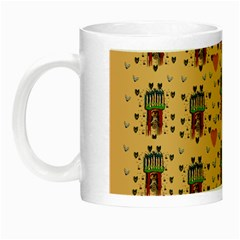 Sankta Lucia With Love And Candles In The Silent Night Night Luminous Mugs