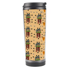 Sankta Lucia With Love And Candles In The Silent Night Travel Tumbler