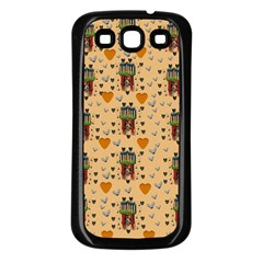 Sankta Lucia With Love And Candles In The Silent Night Samsung Galaxy S3 Back Case (black) by pepitasart