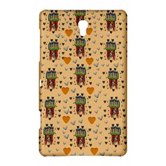Sankta Lucia With Love And Candles In The Silent Night Samsung Galaxy Tab S (8 4 ) Hardshell Case