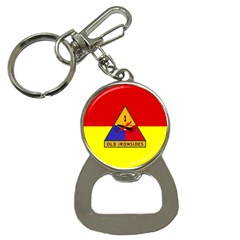 Flag Of U S  Army 1st Armored Division Bottle Opener Key Chains by abbeyz71
