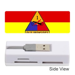 Flag Of U S  Army 1st Armored Division Memory Card Reader (stick) by abbeyz71