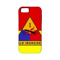 Flag Of U S  Army 1st Armored Division Apple Iphone 5 Classic Hardshell Case (pc+silicone)