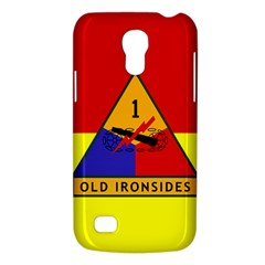 Flag Of U S  Army 1st Armored Division Samsung Galaxy S4 Mini (gt I9190) Hardshell Case