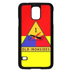 Flag Of U S  Army 1st Armored Division Samsung Galaxy S5 Case (black)