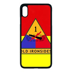Flag Of U S  Army 1st Armored Division Apple Iphone Xs Max Seamless Case (black) by abbeyz71