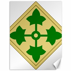 U S  Army 4th Infantry Division Shoulder Sleeve Insignia (1918¨c2015) Canvas 36  X 48