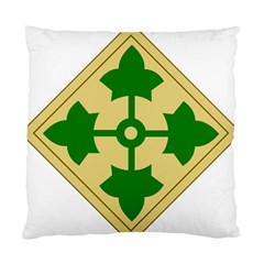 U S  Army 4th Infantry Division Shoulder Sleeve Insignia (1918¨c2015) Standard Cushion Case (two Sides)