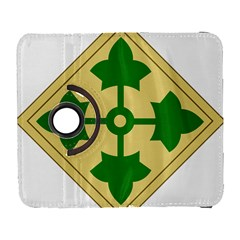 U S  Army 4th Infantry Division Shoulder Sleeve Insignia (1918¨c2015) Samsung Galaxy S  Iii Flip 360 Case