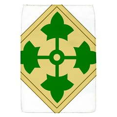 U S  Army 4th Infantry Division Shoulder Sleeve Insignia (1918¨c2015) Removable Flap Cover (s)