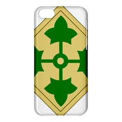 U S  Army 4th Infantry Division Shoulder Sleeve Insignia (1918¨c2015) Apple Iphone 5c Hardshell Case