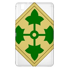 U S  Army 4th Infantry Division Shoulder Sleeve Insignia (1918¨c2015) Samsung Galaxy Tab Pro 8 4 Hardshell Case