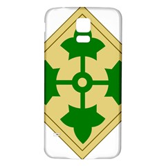 U S  Army 4th Infantry Division Shoulder Sleeve Insignia (1918¨c2015) Samsung Galaxy S5 Back Case (white)