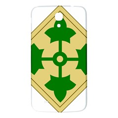 U S  Army 4th Infantry Division Shoulder Sleeve Insignia (1918¨c2015) Samsung Galaxy Mega I9200 Hardshell Back Case