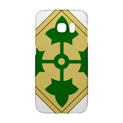 U S  Army 4th Infantry Division Shoulder Sleeve Insignia (1918¨c2015) Samsung Galaxy S6 Edge Hardshell Case