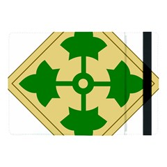 U S  Army 4th Infantry Division Shoulder Sleeve Insignia (1918–2015) Apple Ipad Pro 10 5   Flip Case by abbeyz71