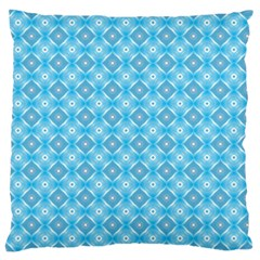 Blue It Is Large Flano Cushion Case (two Sides)
