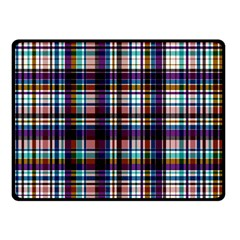 Bold Grid Double Sided Fleece Blanket (small)  by TimelessDesigns
