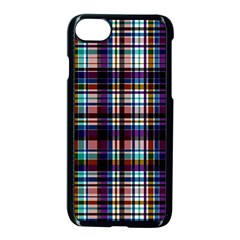 Bold Grid Apple Iphone 8 Seamless Case (black)