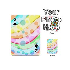 Bubbles On A Rainbow Playing Cards 54 (mini) by FEMCreations