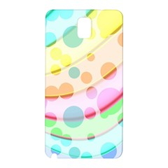 Bubbles On A Rainbow Samsung Galaxy Note 3 N9005 Hardshell Back Case by FEMCreations