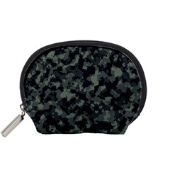 Camouflage In Green Accessory Pouch (small)