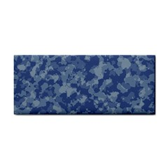 Camouflage In Blue Hand Towel