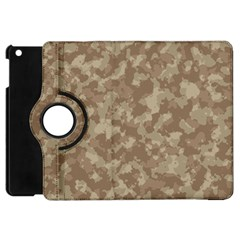 Camouflage In Brown Apple Ipad Mini Flip 360 Case by FEMCreations