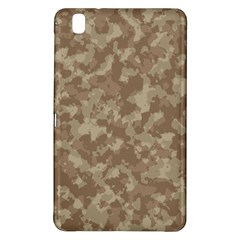 Camouflage In Brown Samsung Galaxy Tab Pro 8 4 Hardshell Case by TimelessDesigns