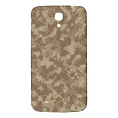Camouflage In Brown Samsung Galaxy Mega I9200 Hardshell Back Case