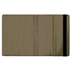 Canvas Style Apple Ipad 2 Flip Case by FEMCreations
