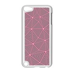 Chaos Of Triangles In Pink Apple Ipod Touch 5 Case (white)