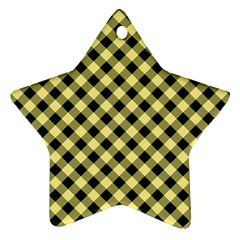 Checkers 1 Ornament (star)