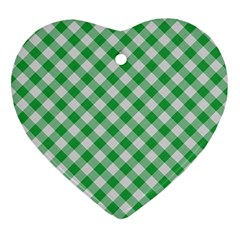 Checkers 2 Heart Ornament (two Sides) by FEMCreations