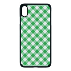 Checkers 2 Apple Iphone Xs Max Seamless Case (black) by TimelessDesigns