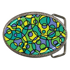 Circling Time 1 Belt Buckles
