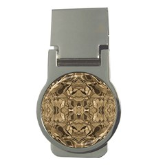 Abstract #8   I   Antiqued 6000 Money Clips (round)