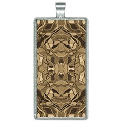 Abstract #8   I   Antiqued 6000 Rectangle Necklace