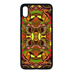 Abstract #8   I   Autumn 6000 Apple Iphone Xs Max Seamless Case (black) by KesaliSkyeArt