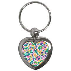 Circling Time 3 Key Chains (heart)