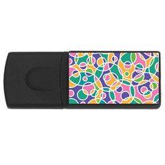 Circling Time 3 Rectangular Usb Flash Drive by TimelessDesigns