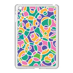 Circling Time 3 Apple Ipad Mini Case (white) by TimelessDesigns