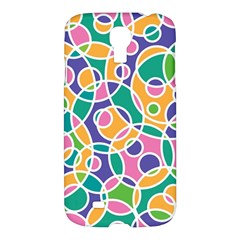 Circling Time 3 Samsung Galaxy S4 I9500/i9505 Hardshell Case by FEMCreations