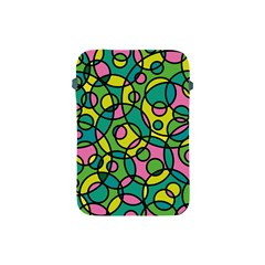 Circling Time 2 Apple Ipad Mini Protective Soft Cases by TimelessDesigns