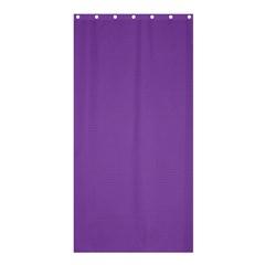 All Purple Shower Curtain 36  X 72  (stall)