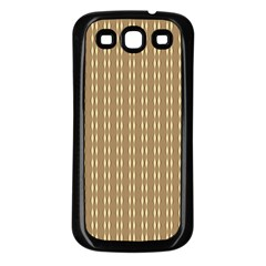 Brown Effect Samsung Galaxy S3 Back Case (black)