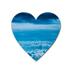 Cloudy Sky Heart Magnet by TimelessDesigns