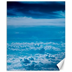 Cloudy Sky Canvas 8  X 10  by TimelessDesigns